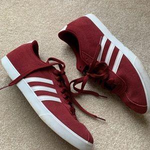 adidas gazelles sneakers red suede gazelle
